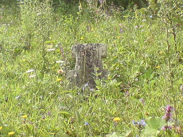 Cruce veche din piatra